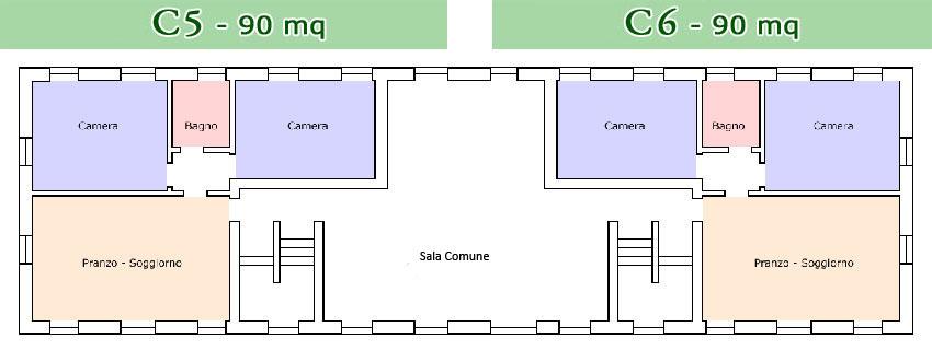 Agriturismo Lemene - Piantine C5 e C6