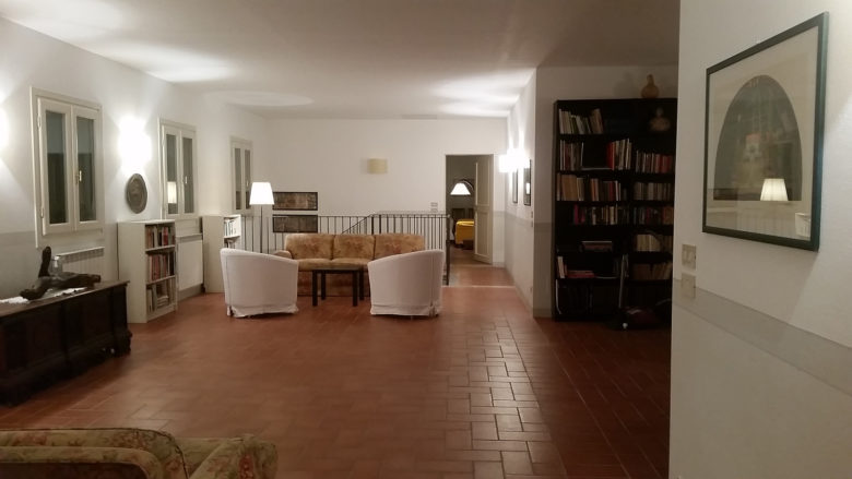 Sala lettura / Reading room
